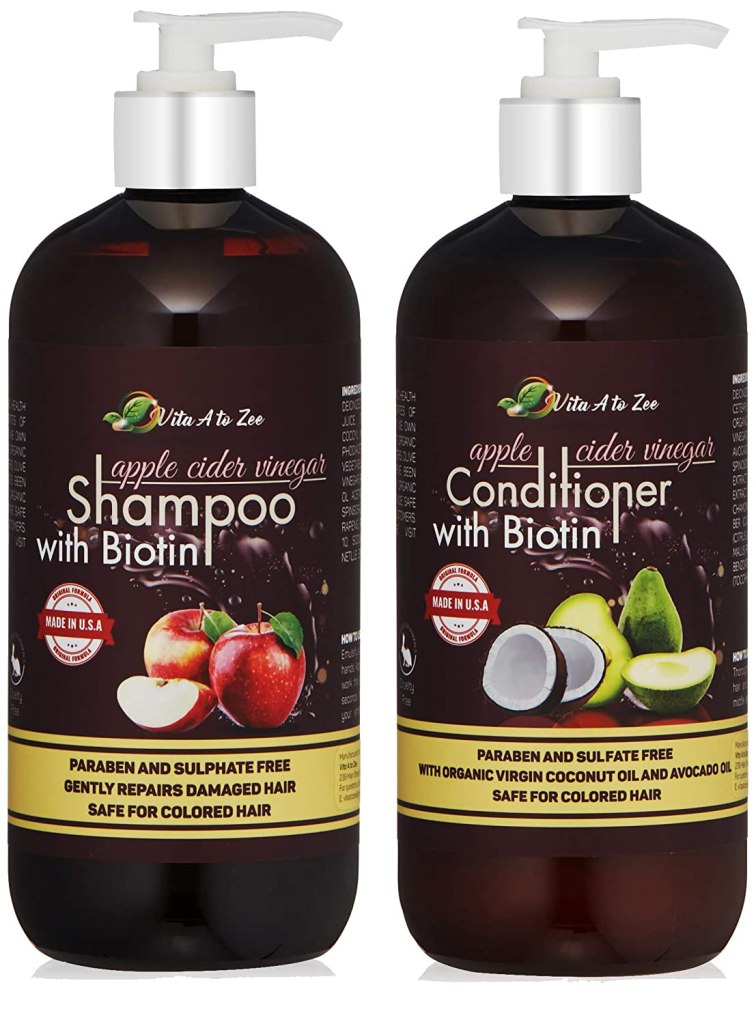 Kit de shampoo y acondicionador de Vita a to Zee