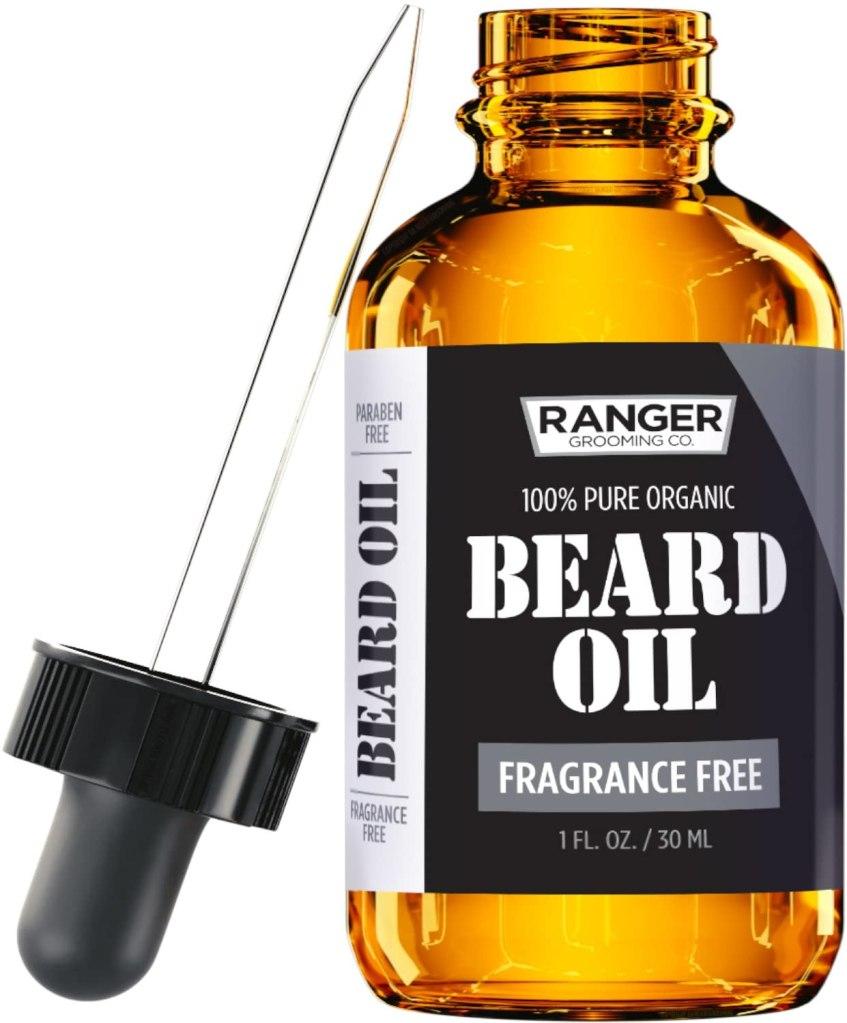 aceite para la barba de hombre