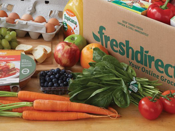 vegetales frescos de Fresh Direct