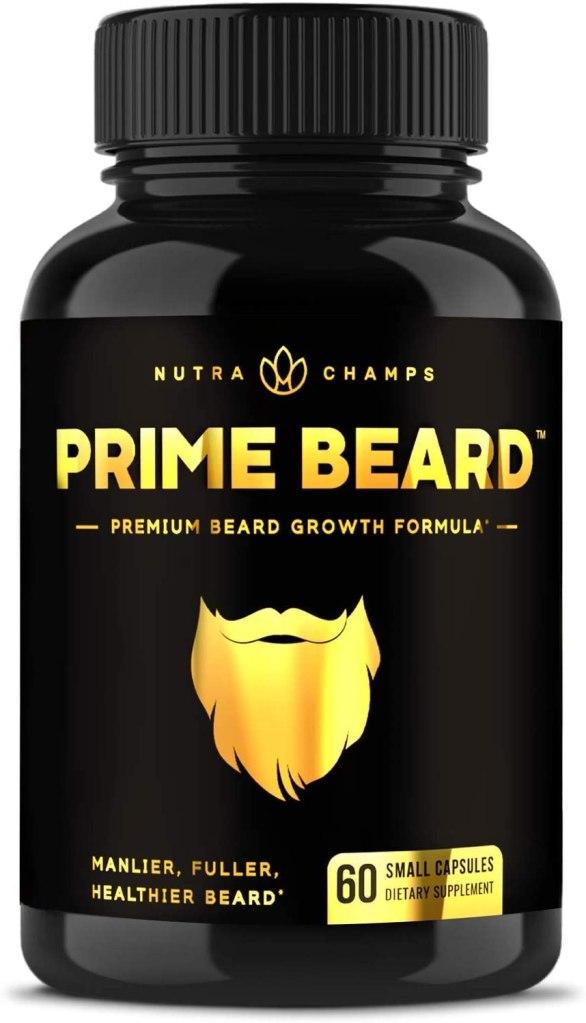 suplemento para la barba