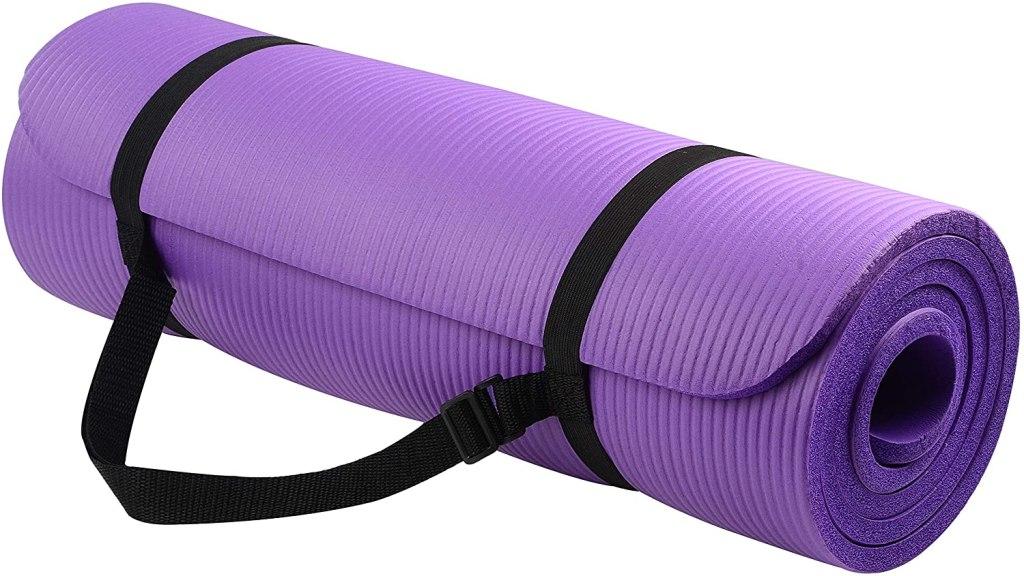 alfombra de yoga morada