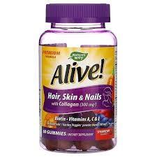 Suplemento para el crecimiento de las uñas, el cabello y la salud de la piel