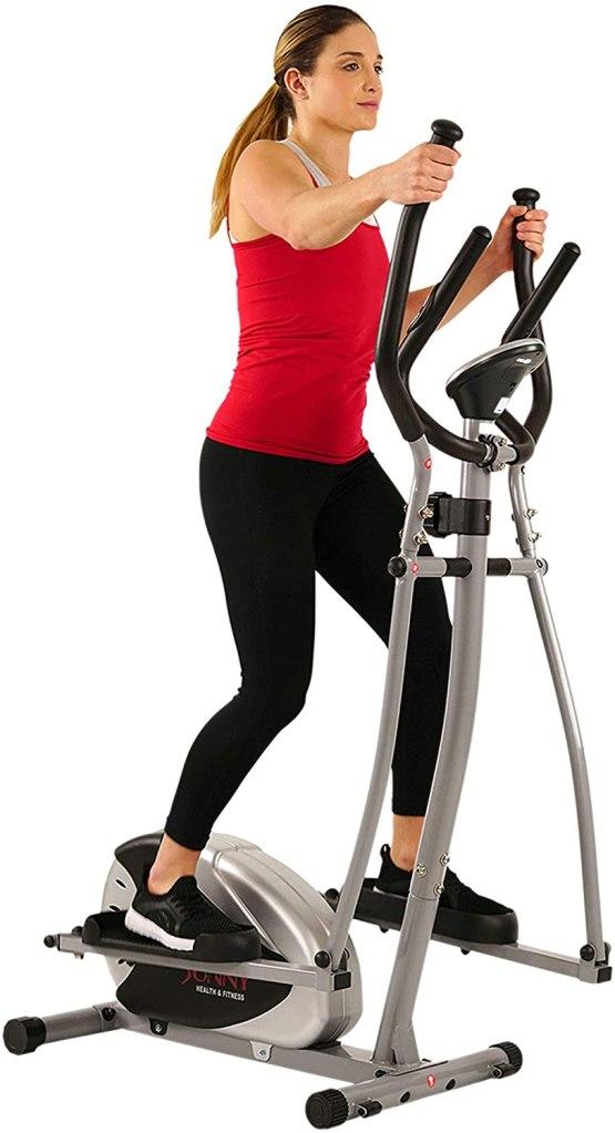 bicicleta elíptica para la casa de Sunny Health