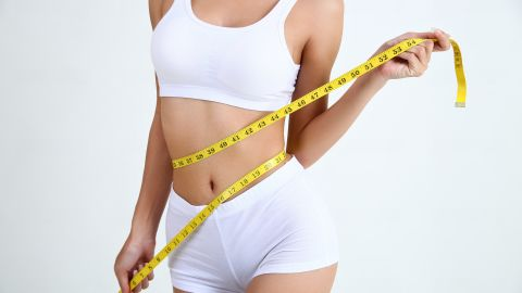 mujer que bajó de peso