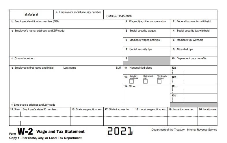 formulario w2