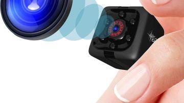 Mini cámara espía. Foto de Amazon