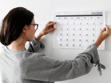 mujer planificando