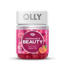 gomitas masticables para el crecimiento del cabello de la marca Olly