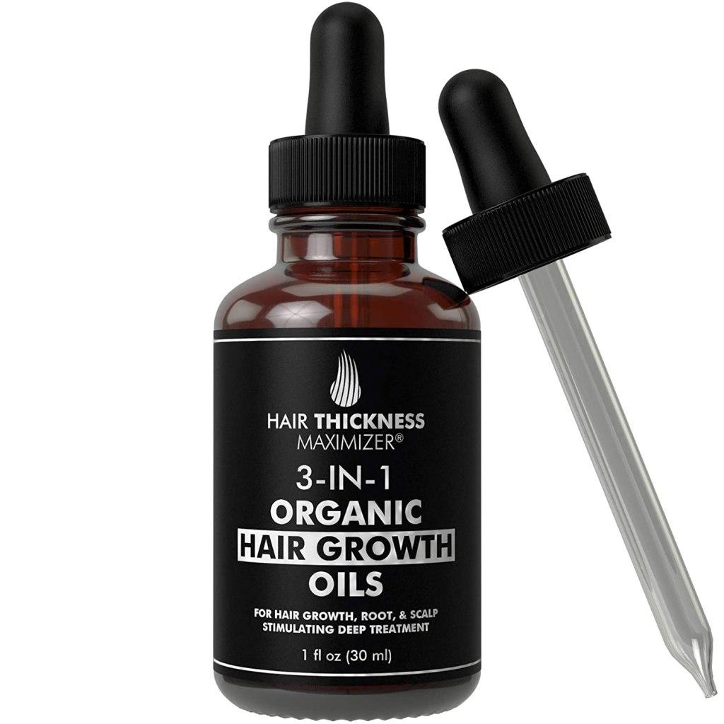 Suplemento para el cabello con aceite de árbol de té