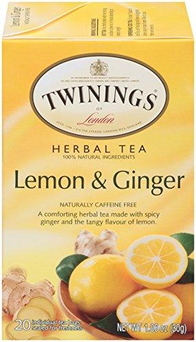 té de limón y jengibre de twinings