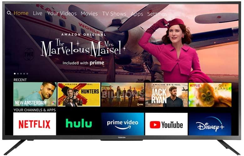 tv toshiba 55 pulgadas HD