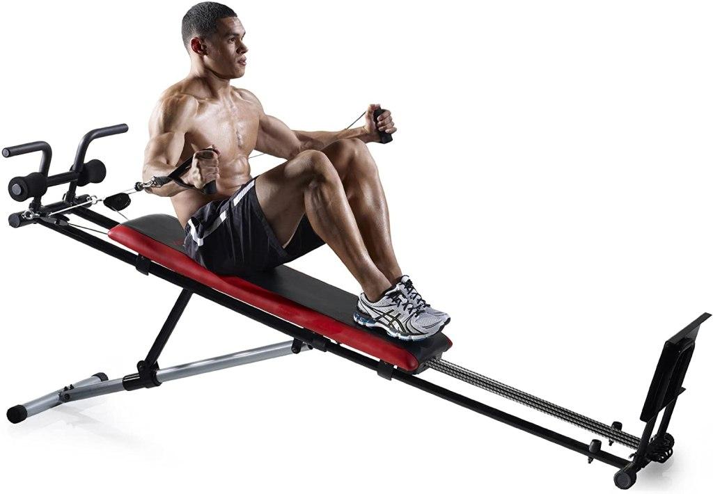 máquina multifuncional para ejercicios en casa