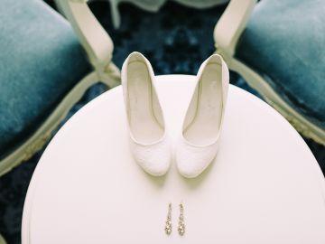 zapatillas de boda