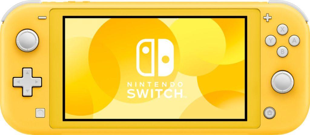 nintendo switch amarillo
