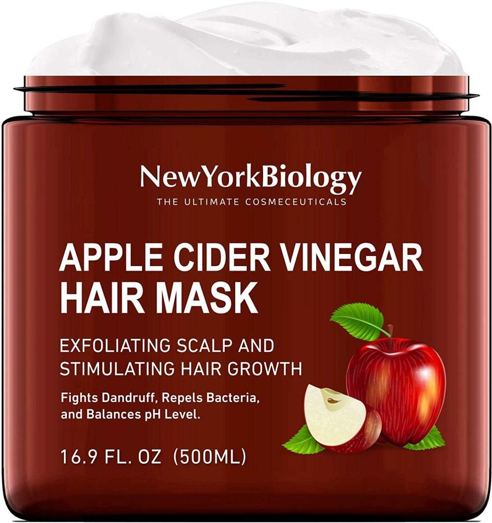 mascarilla para el cabello con vinagre de sidra de manzana