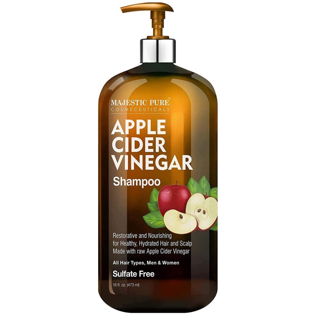 shampoo con vinagre de sidra de manzana
