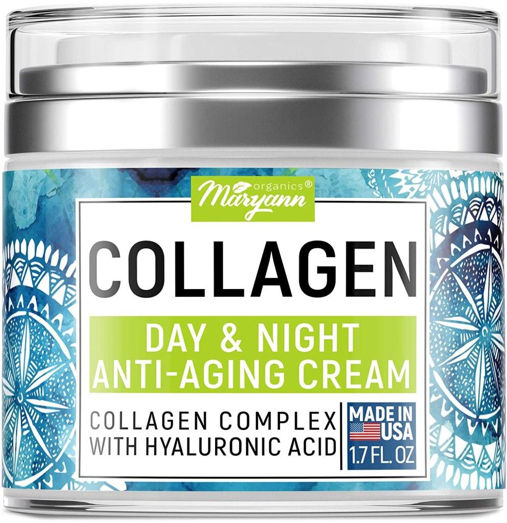 crema de colágeno para día y noche