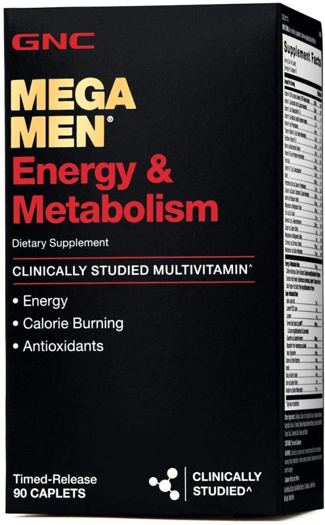 suplemento para energía y metabolismo