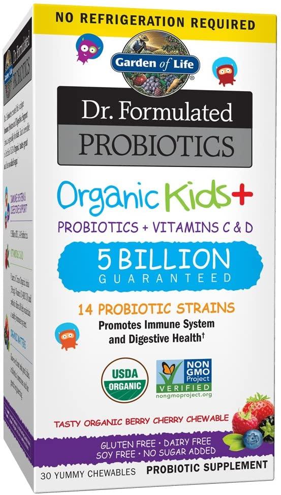 probióticos con vitamina C