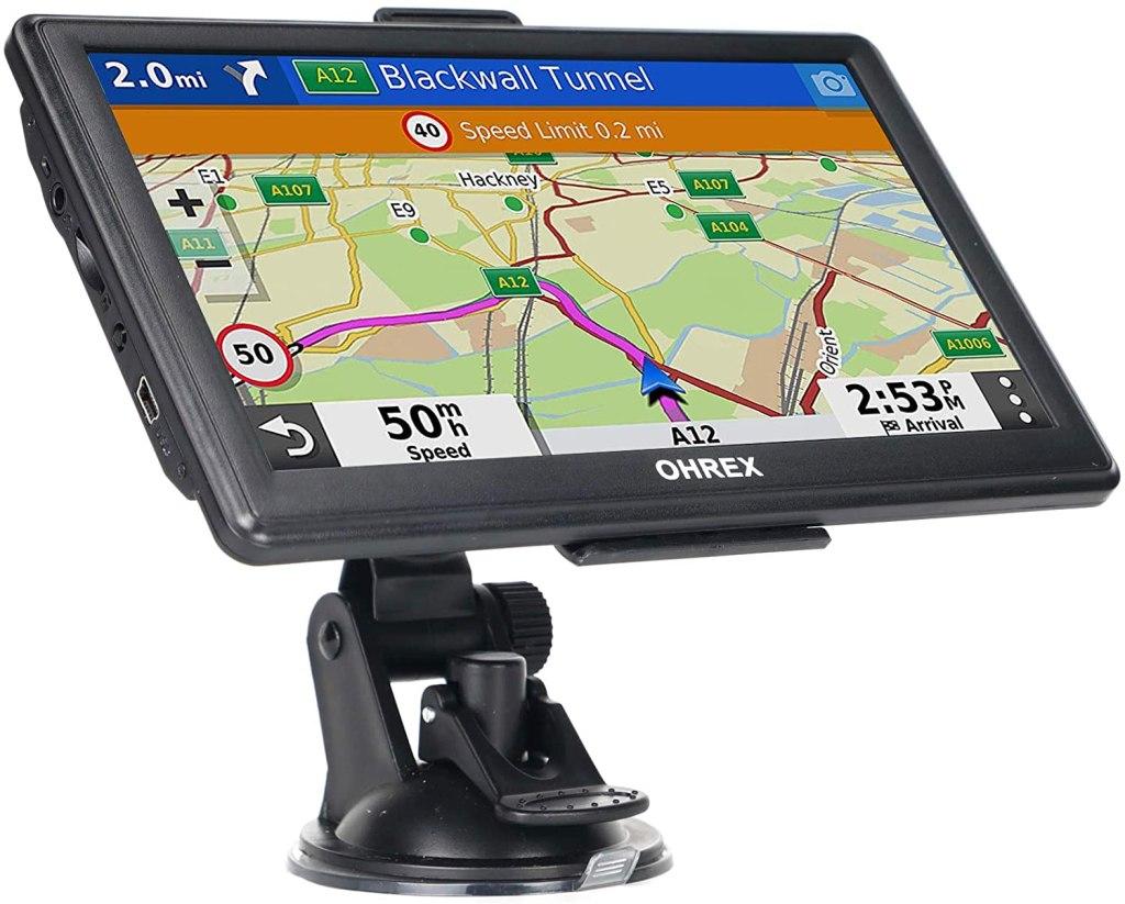 dispositivo gps con pantalla