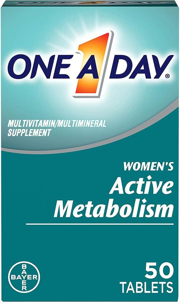 suplemento para metabolismo activo