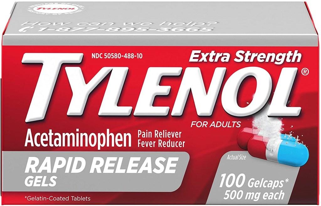 tylenol antipirético