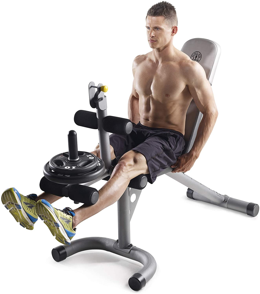 banco de entrenamiento para piernas