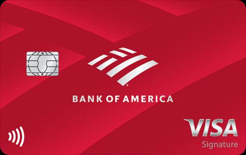 tarjeta de bank of america