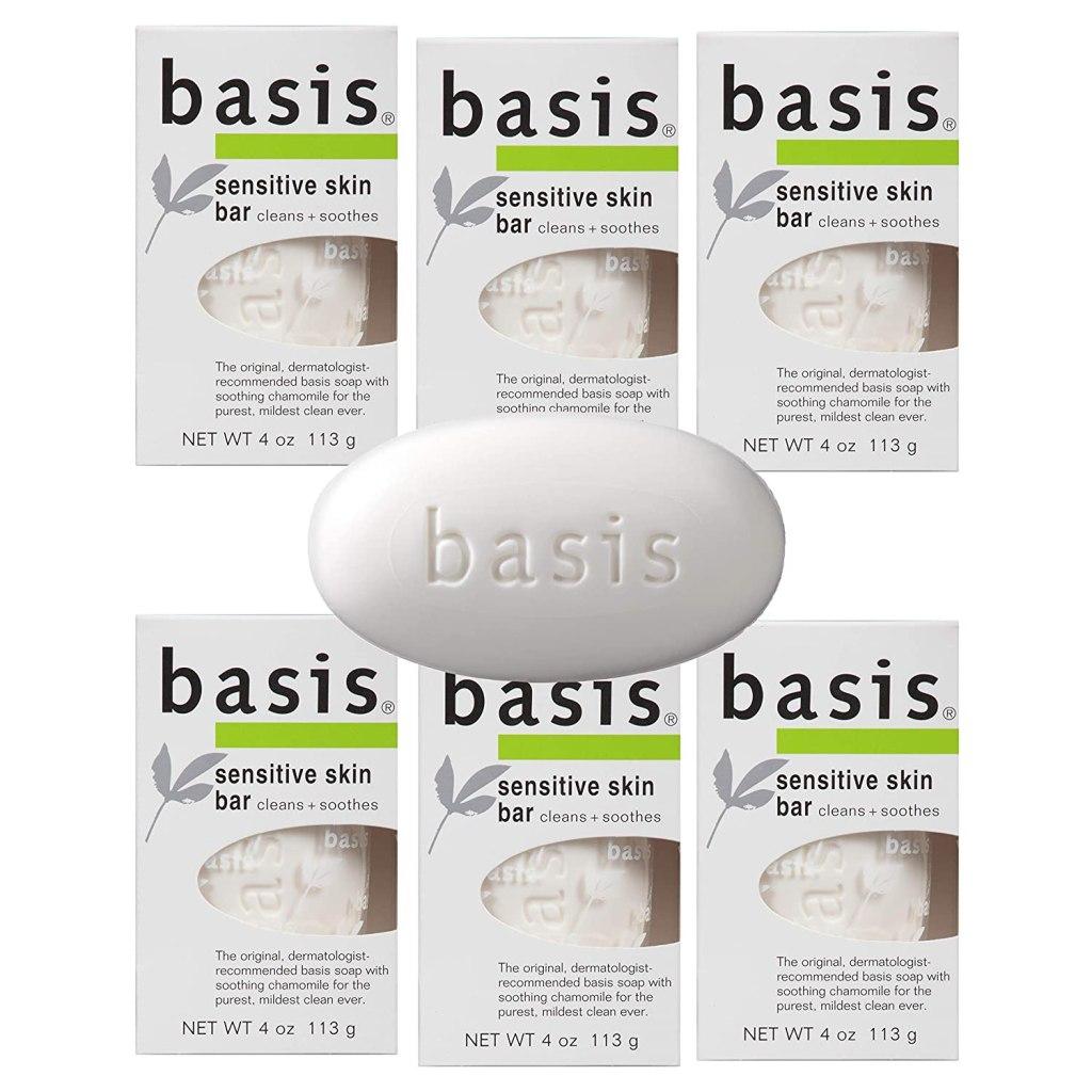 Jabón para pieles sensibles Basis