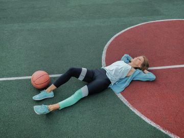 jugadora de basquetbol
