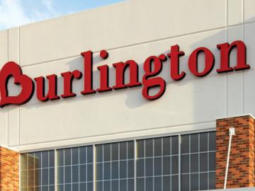 fachada de burlington