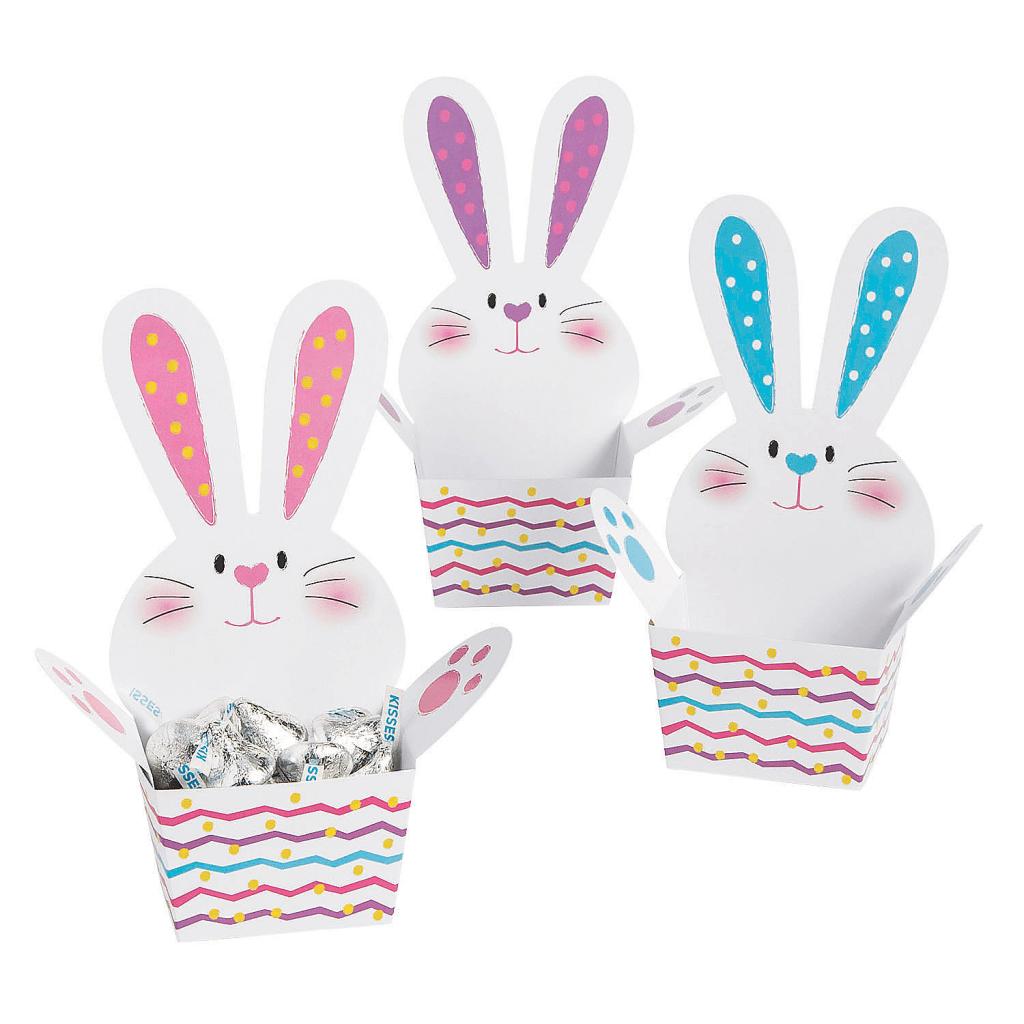 cajas de pascua de conejos