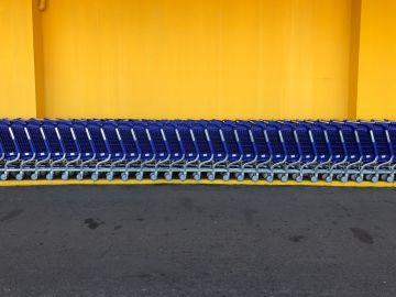 carritos de compras en Walmart