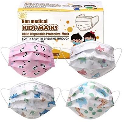 mascarilla de diseños variados para niños