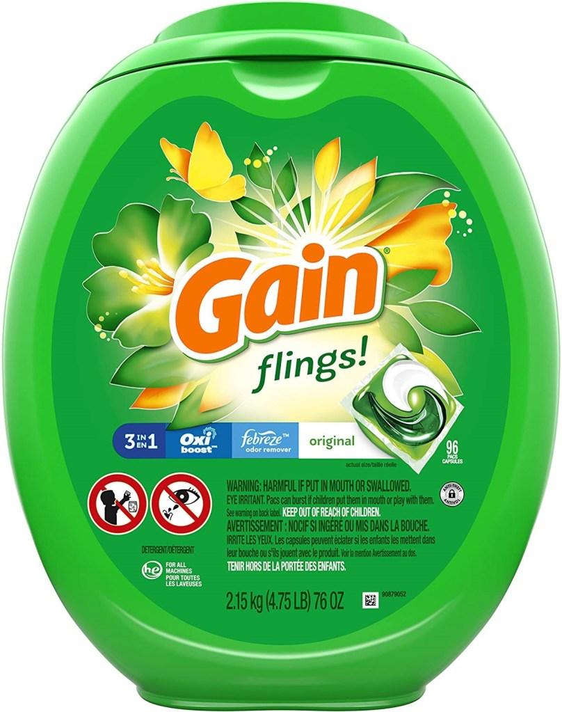 detergente para la ropa