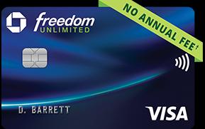 tarjeta freedom unlimited