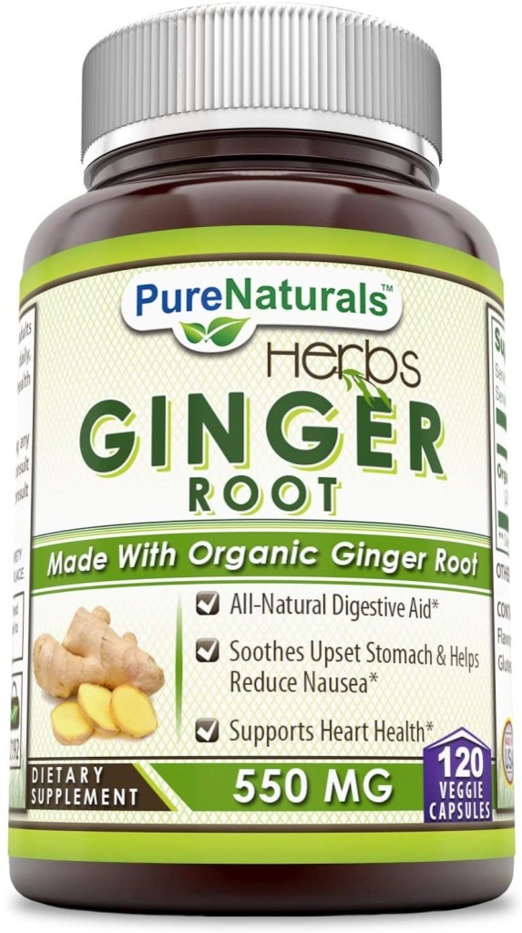 ginger root para malestar estomacal