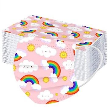 pack de mascarillas de nubes para niños