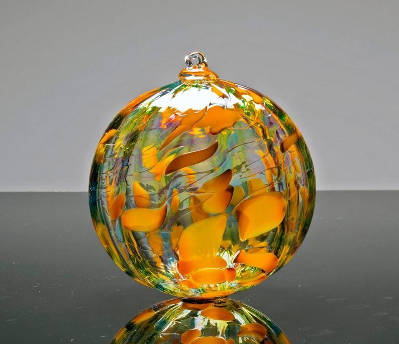 ornamento multicolor de cristal