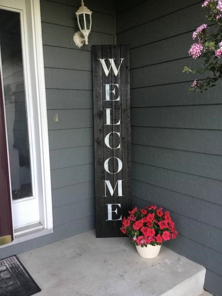 welcome para entrada