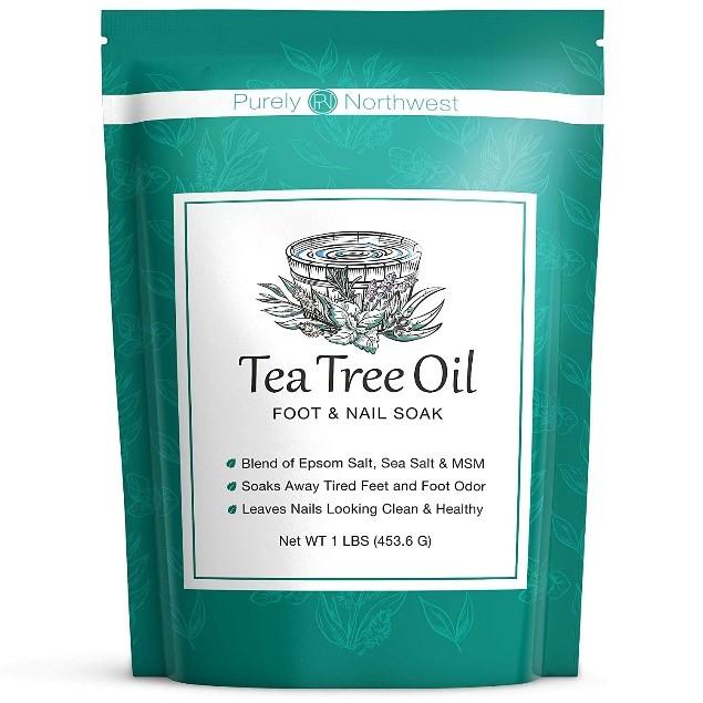 Aceite de árbol de té para los pies Purely Northwest