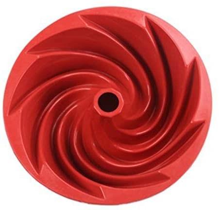tartera de silicona con diseño espiral