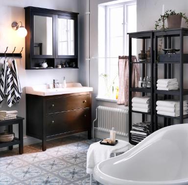 vanity para baño de ikea