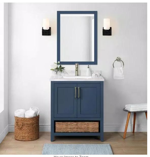 vanity para baño de The Home Depot