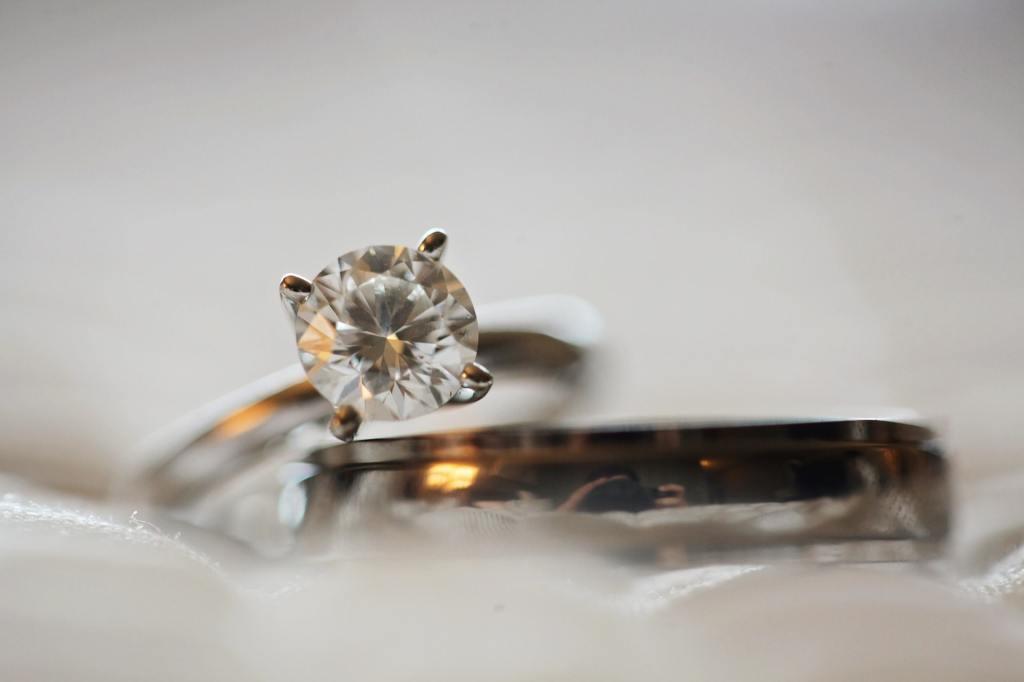 diamante de un anillo
