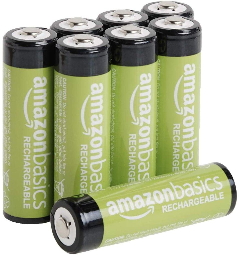 baterías recargables de amazon basics