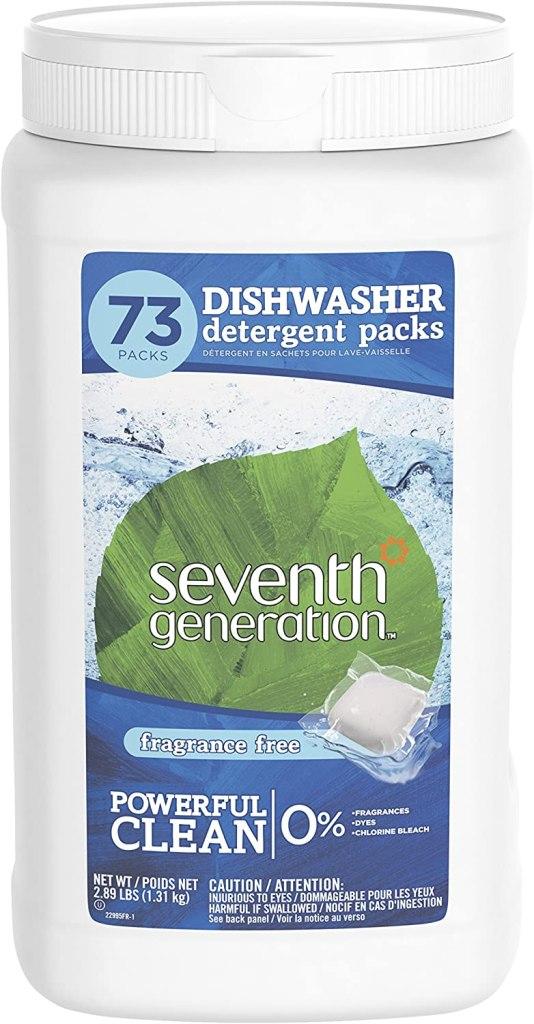 detergente ecológico para lavavajillas
