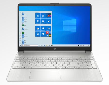 laptop hp con pantalla táctil