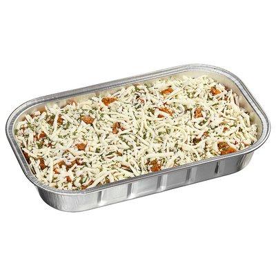 bandeja de lasaña de ravioles con salsa de costco