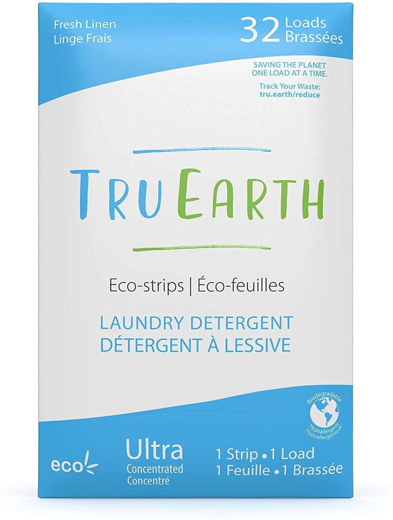 detergente ecológico en tiras deshidratadas